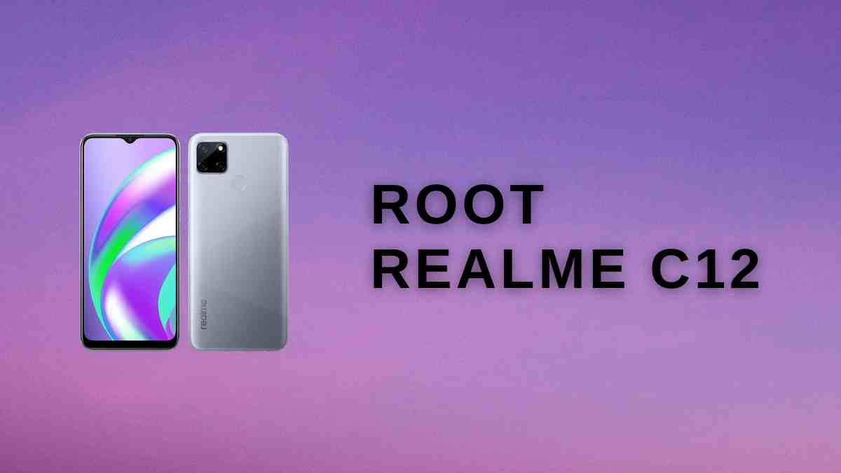Root Realme C12