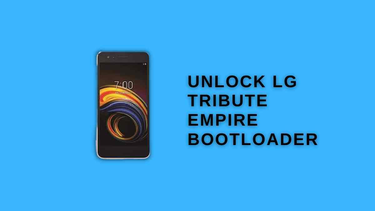 Unlock LG Tribute Empire Bootloader